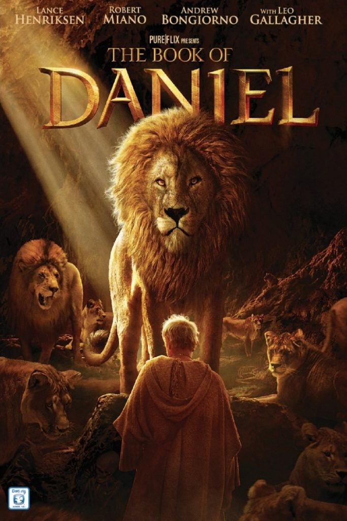 "Poster for the movie ""The Book of Daniel"""