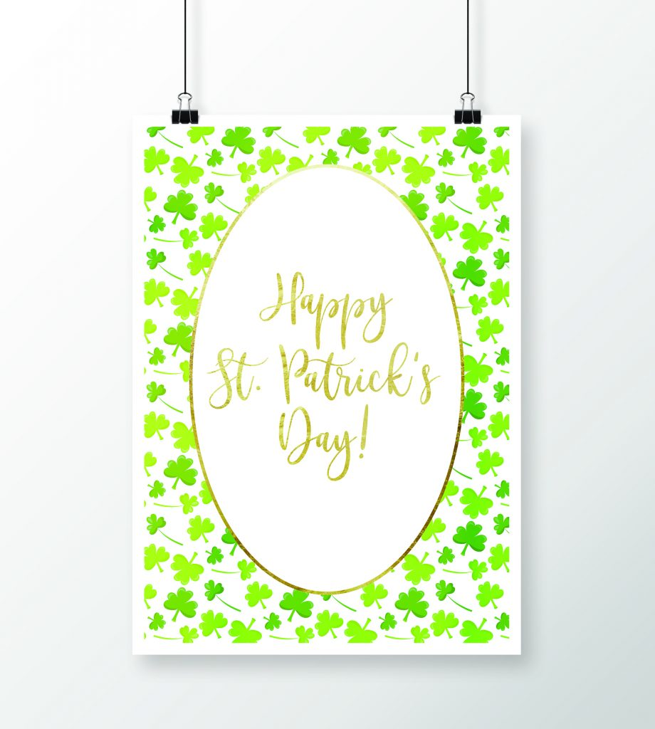 Happy St. Patrick's Day Printable