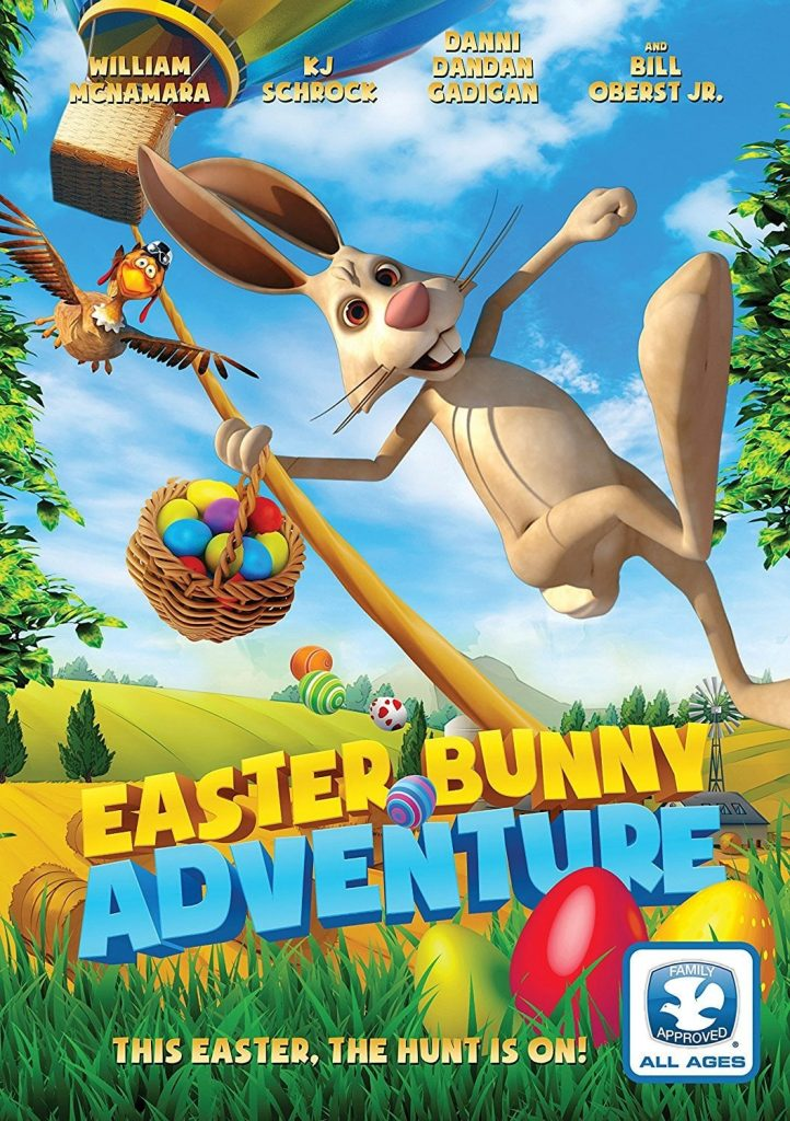 "Poster for the movie ""Easter Bunny Adventure"""