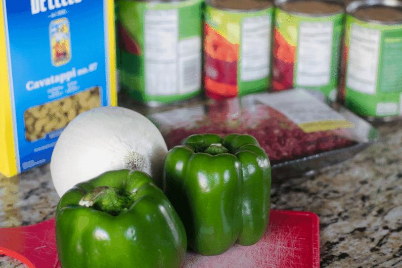 Ingredients for IP Goulash