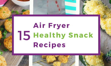 15 Air Fryer Healthy Snack Recipes