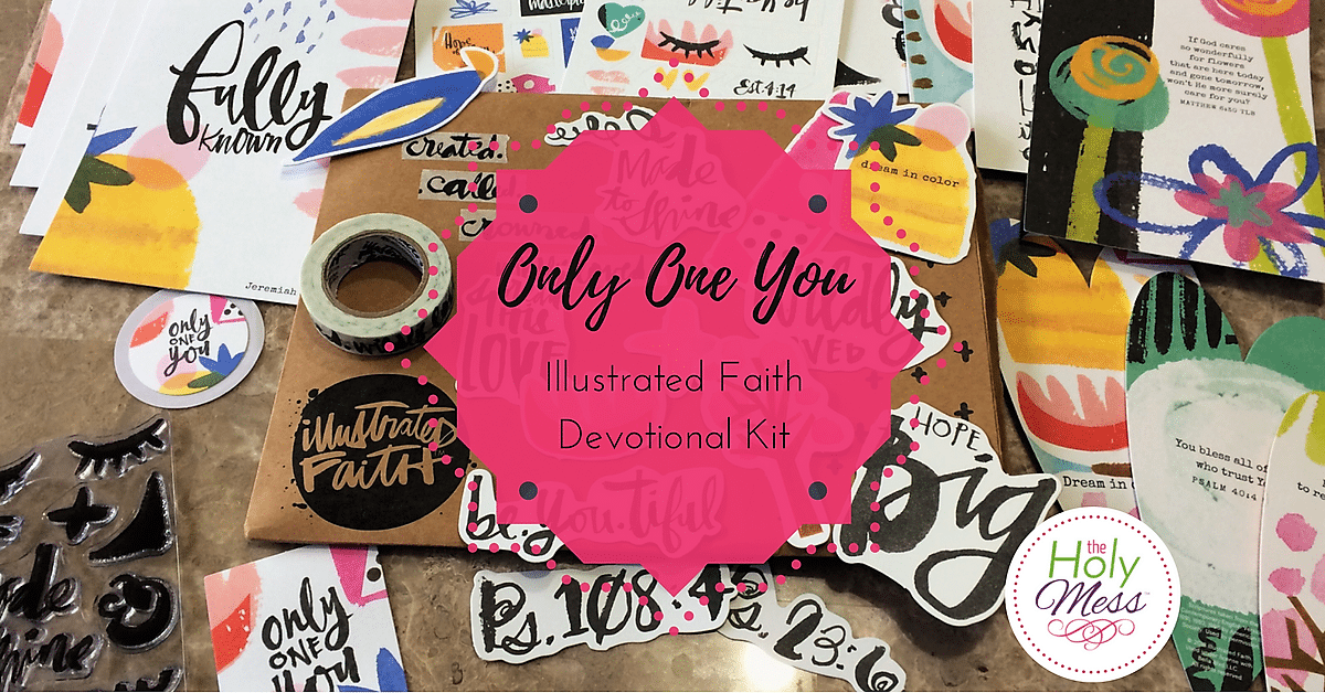 "Illustrated Faith ""Only One You"" Devotional Kit"