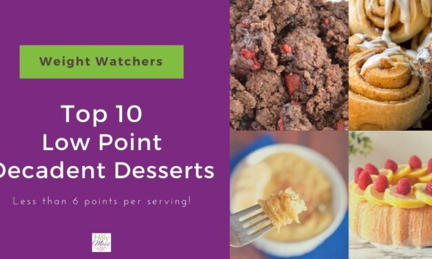 10 Decadent Weight Watchers Dessert Recipes (with Points!)