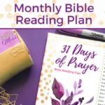31 Days of Prayer Monthly Bible Reading Plan