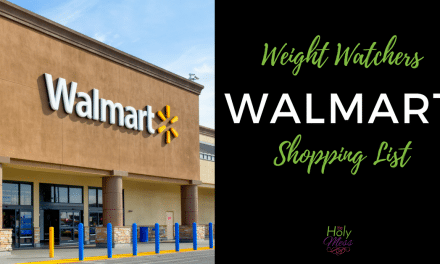 Weight Watchers Walmart Shopping List