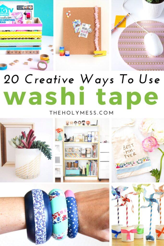 20 Creative Ways to Use Washi Tape