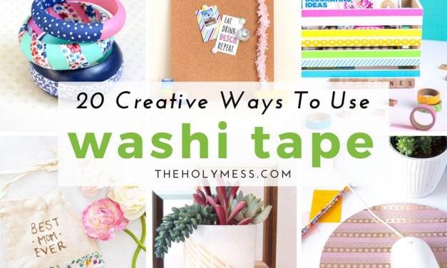19 Creative Ways to Use Washi Tape