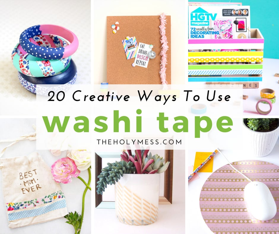 20 Creative Ways to Use Washi Tape