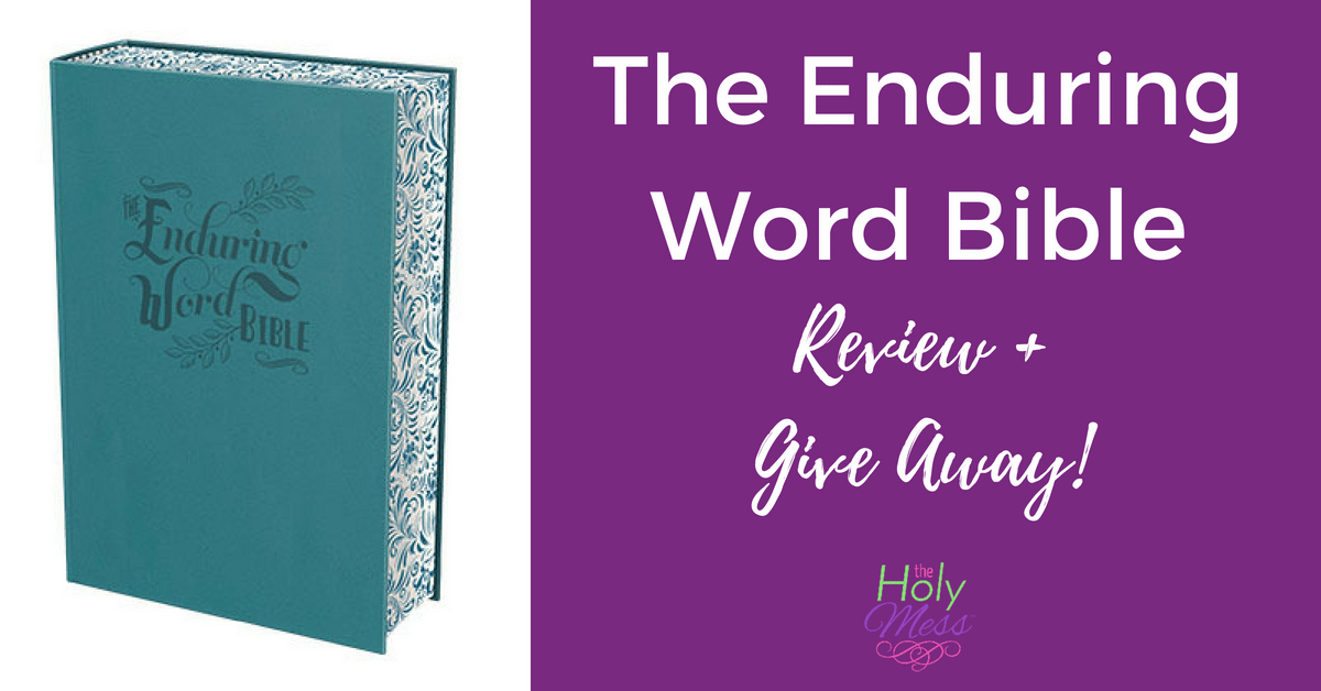 Enduring Word Bible Review and Give Away