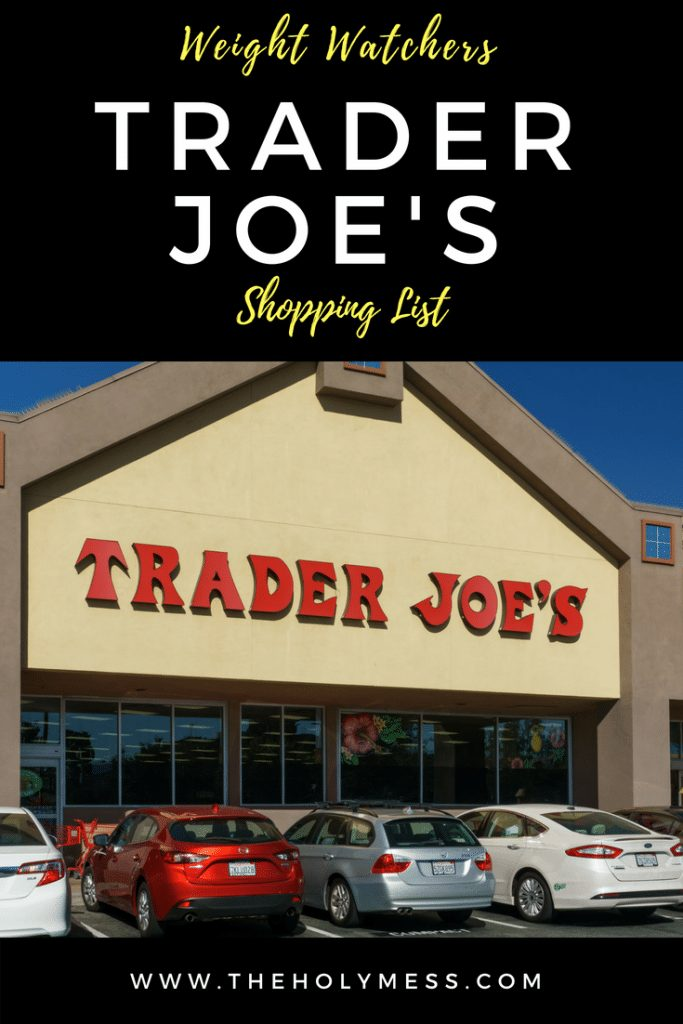 Weight Watchers Trader Joe's Shopping List
