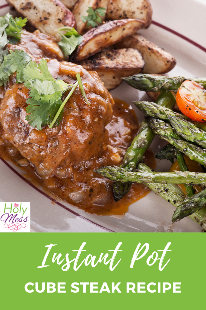 Instant Pot Cube Steak