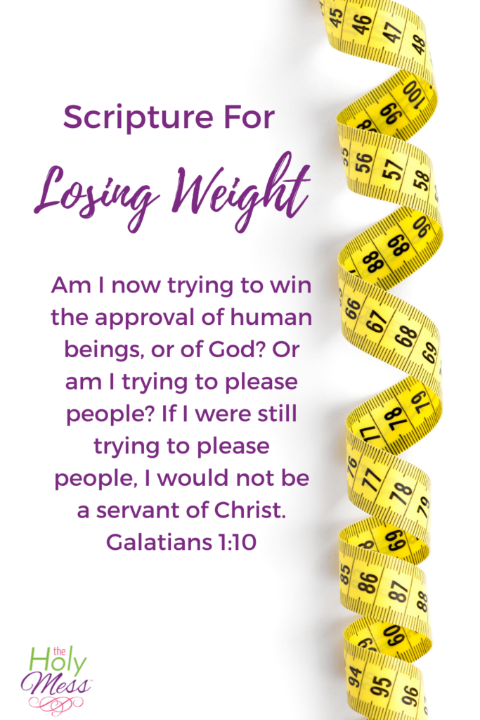 bible verses for weight loss