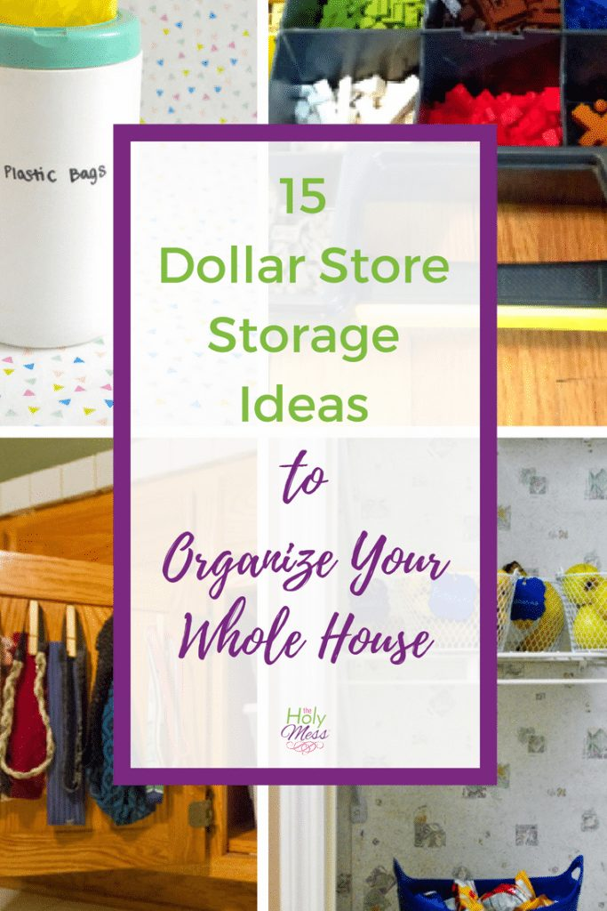 15 Dollar Store Organization Ideas to Organize Your Whole House