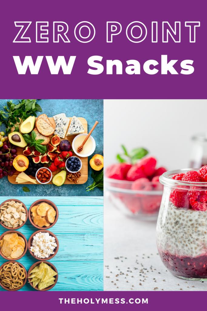 zero point ww snacks, Weight Watchers Zero Point Food