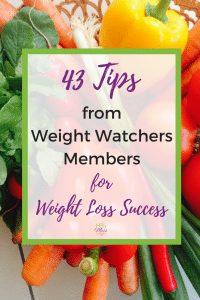 43 Tips from Weight Watchers Members for Weight Loss Success