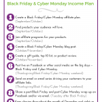 Blogger on Black Friday income