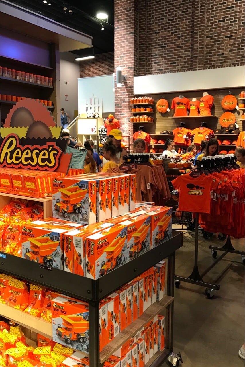 Reeses at Hersheys Chocolate World
