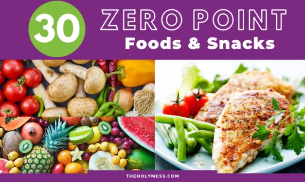 30 Weight Watchers Zero Point Food