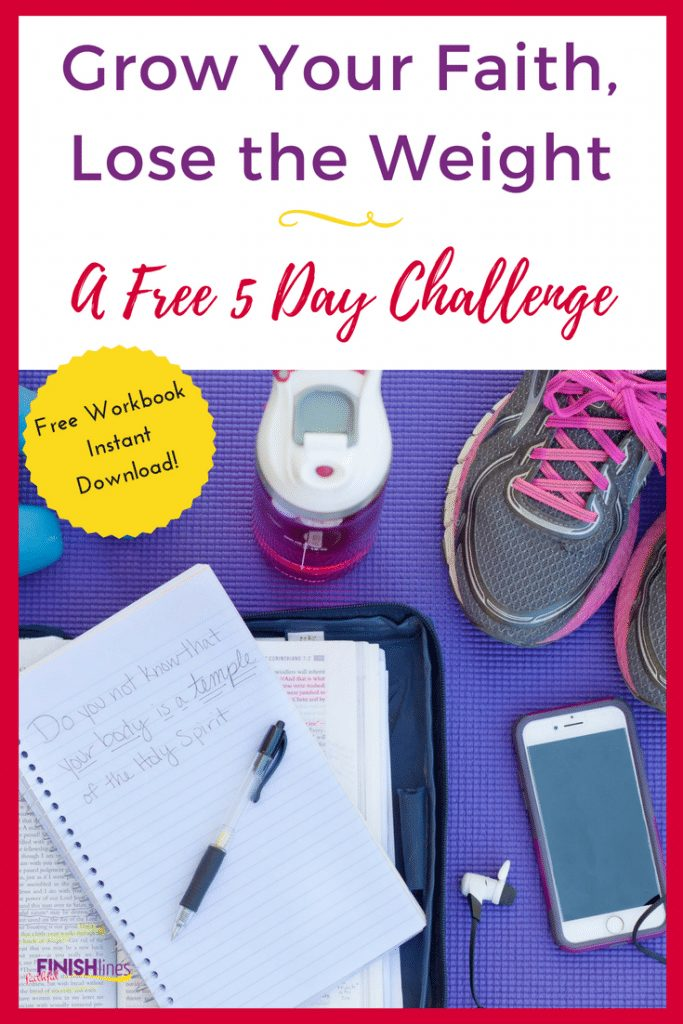 Free Christian Weight Loss Challenge: Grow Your Faith Lose the Weight