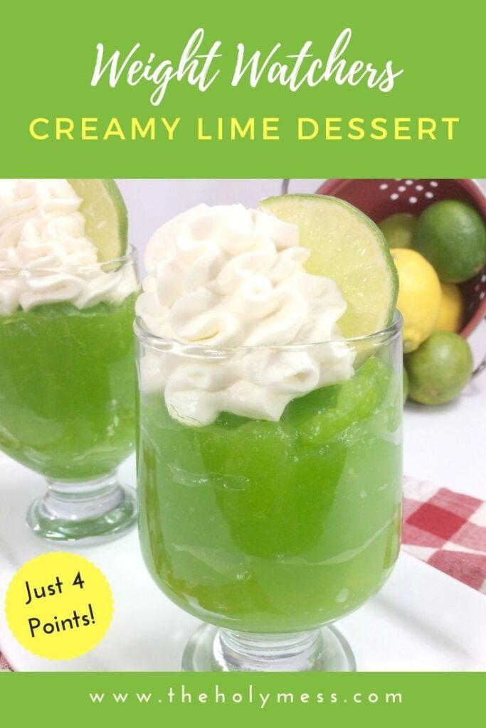 Lime Dessert for WW memers