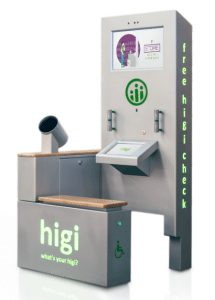 Higi Information Collection station