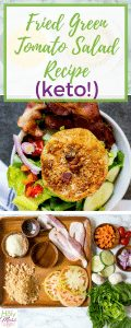 Fried Green Tomato Salad Recipe (Keto!)