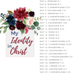 My Identity in Christ Bible Reading Plan