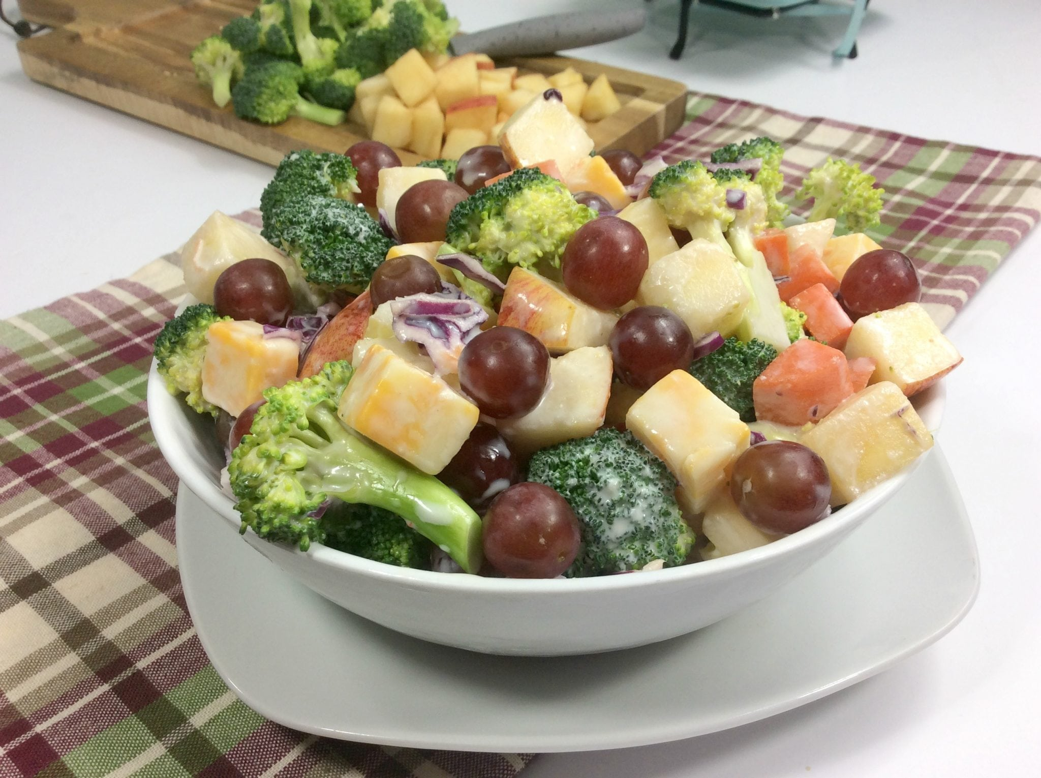 WW Apple Broccoli Salad