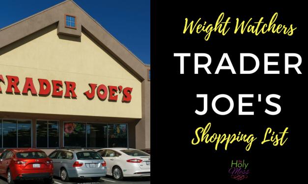 Weight Watchers Trader Joe's Shopping List