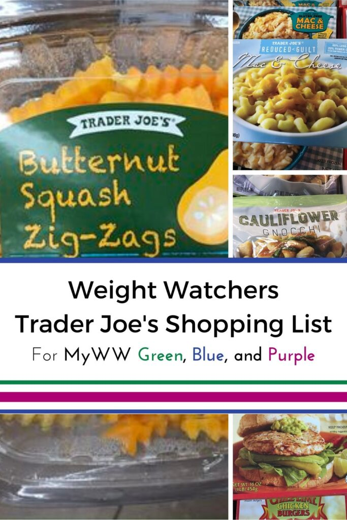 MyWW Trader Joe's Shopping List with Printable