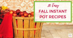 20 easy fall instant pot recipes