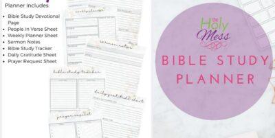 Bible Study Planner