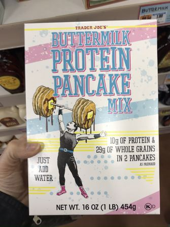 Trader Joe's Protein Pancake Mix