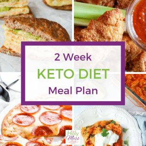 two week keto diet meal plan