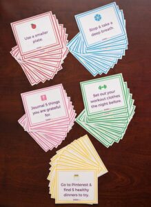 One Small Change Christian Weight Loss Cards