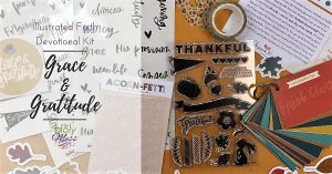 Grace & Gratitude Illustrated Faith Devotional Kit Review