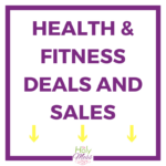 health and fitness black Friday deals