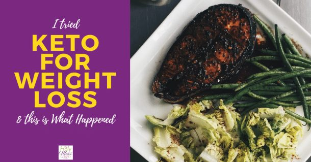 I Tried Keto for Weight Loss and This is What Happened