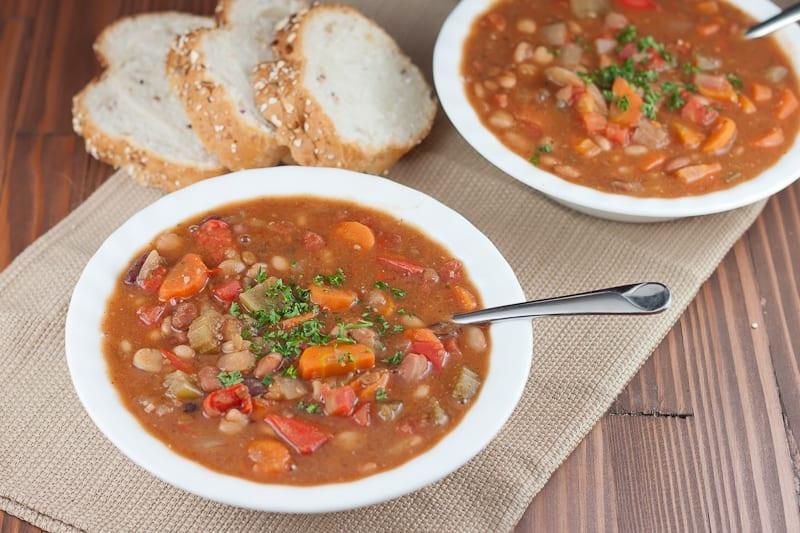 Instant Pot 15 Bean Soup Recipe - WW 0 points