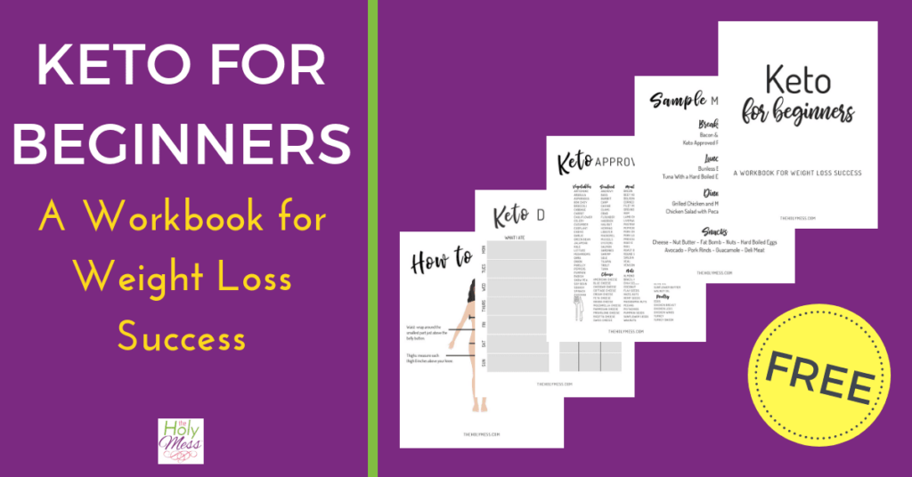 Free Keto Workbook for Beginners