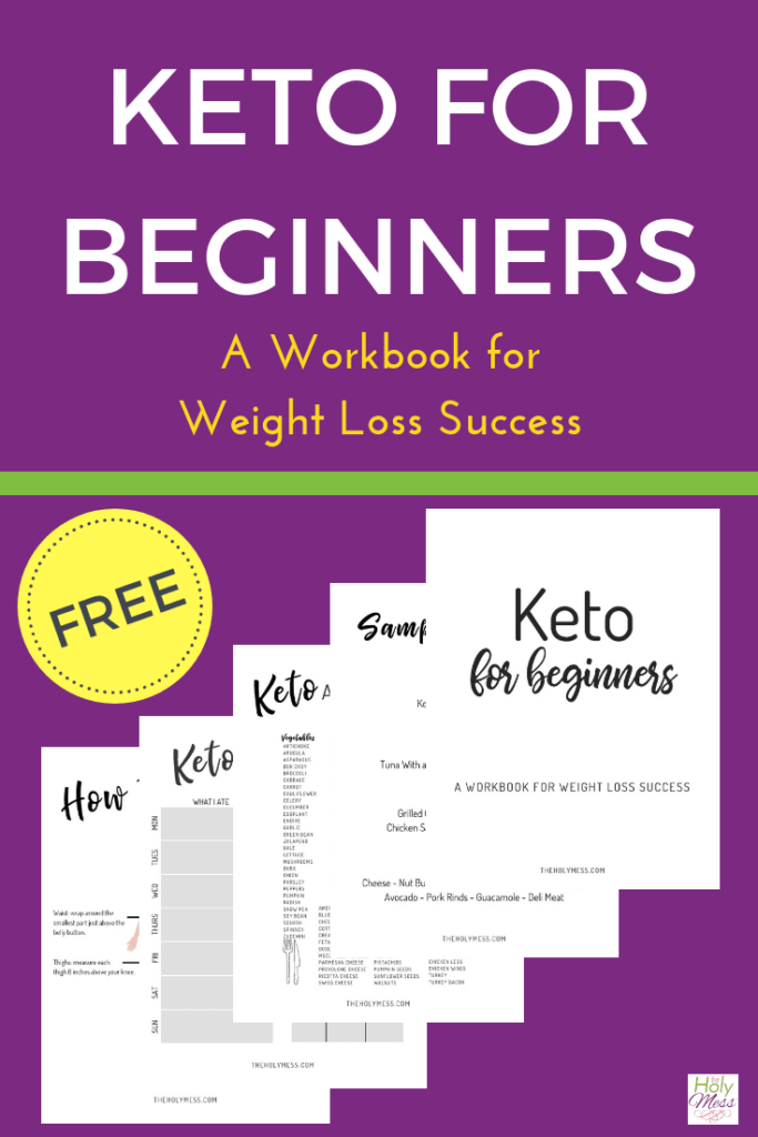 Free Printable Keto Workbook - Keto for Beginners - a Workbook for Weight Loss Success