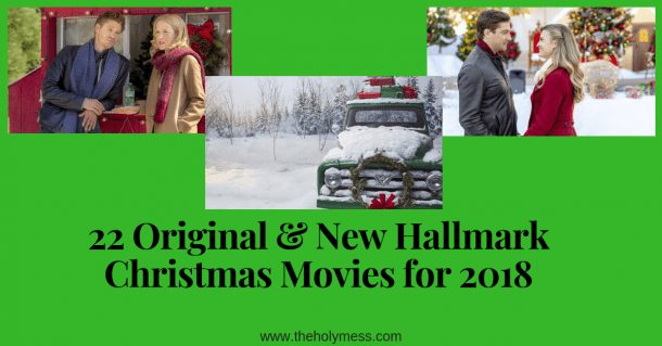 22 Original & New Hallmark Christmas Movies for 2018