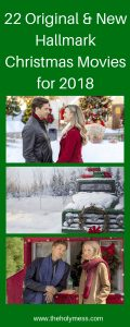 22 Original and New Hallmark Christmas Movies for 2018 #christmas #holiday #movies #family