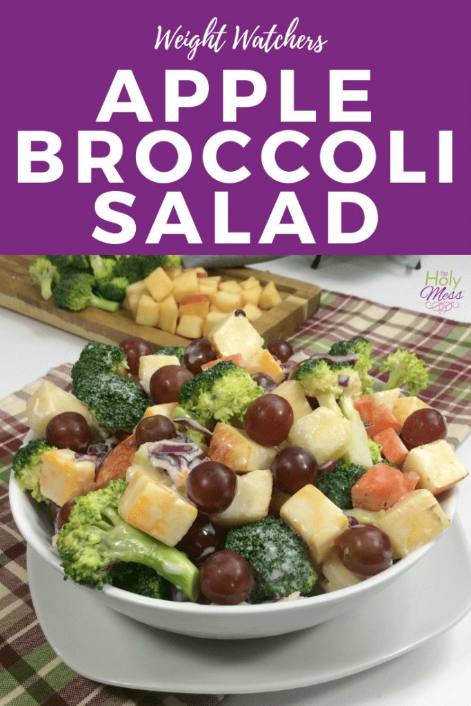 WW Apple Broccoli Salad recipe