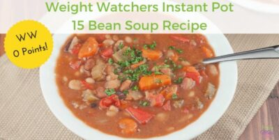 Weight Watchers Instant Pot Bean Soup