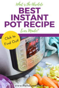 What is the Absolute Best Instant Pot Recipe Ever Made? #instantpot #recipe #dinner #easy