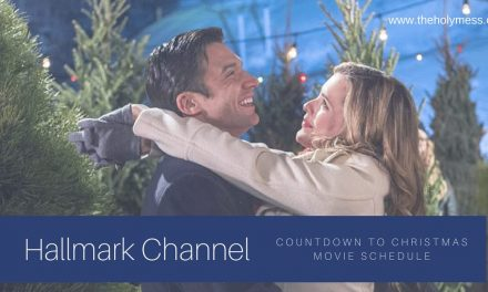 Hallmark Channel: Countdown to Christmas Movie Schedule 2018 with Printable