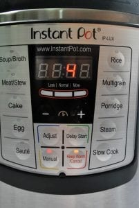 WW Instant Pot cooking