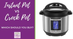Instant Pot vs Crock Pot - Which should you buy? #instantpot #crockpot