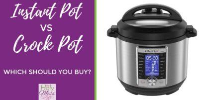 Instant Pot vs Crock Pot - Which should you buy? #instantpot #crockpot
